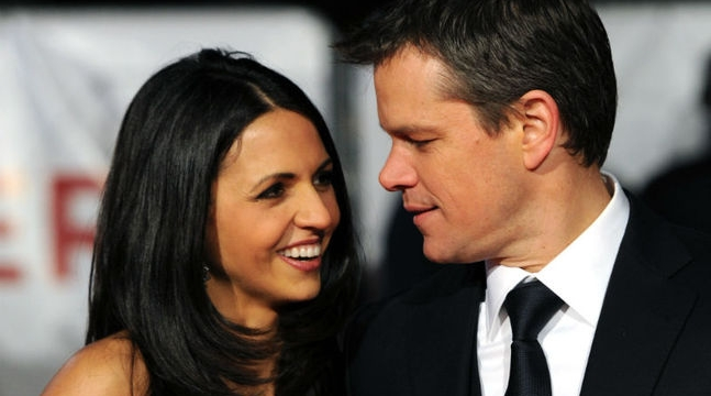 matt damon wedding renewal